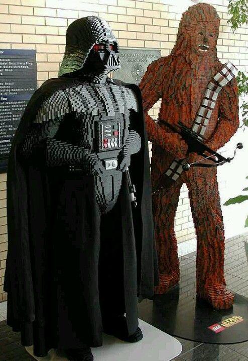 darth vader e chewbacca